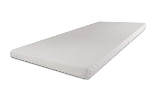 SW Bedding Topper Viscoelastische Matratzenauflage 140 x 200 x 9 cm H2 mit Bezug Medicare - 30 Tage...