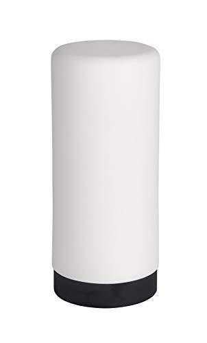 WENKO Spülmittelspender Easy Squeez-e Weiß - Seifenspender Fassungsvermögen: 0.25 l, Silikon, 6 x...