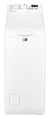 AEG L6TB40260 Waschmaschine Toplader / 6,0 kg / Mengenautomatik / Nachlegefunktion / Kindersicherung...