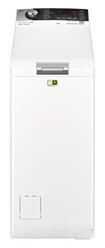 AEG L8TE84565 Waschmaschine Toplader / Energiesparender Waschvollautomat / Energieklasse D / Mit...