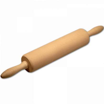 HOFMEISTER® Profi-Teigrolle mit Metallachse, 40 cm, Made in EU, plastikfrei Kochen & backen,...