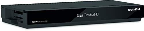 TechniSat TECHNISTAR S3 ISIO – HD Sat Receiver (HDTV, Aufnahmefunktion via USB, LAN, HbbTV,...