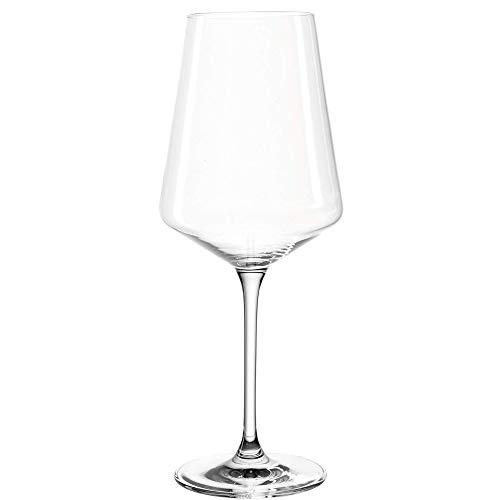 Leonardo Puccini Weißwein-Gläser, 6er Set, spülmaschinenfeste Wein-Gläser, Weisswein-Kelch mit...