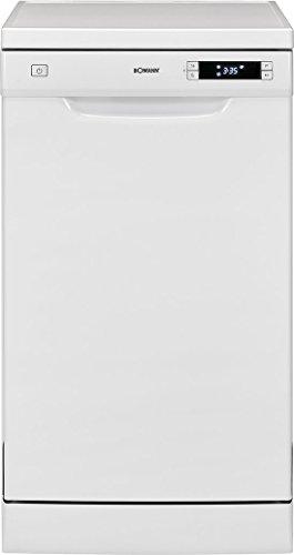 Bomann GSP 863 Geschirrspüler / EEK A++ / Stand/Unterbau / 45 cm / 211 kWh / 10 MGD / 6 Programme /...