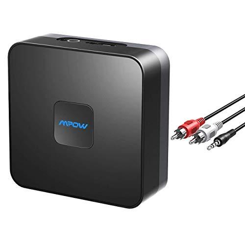 Mpow Bluetooth Empfänger, Bluetooth Audio Adapter für Heim Auto Lautsprechersystem,...