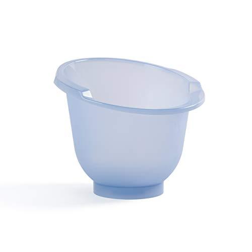 Doomoo Basics – Shantala Blue Baby-Badewanne für Neugeborene – Ergonomische Babywanne zum...