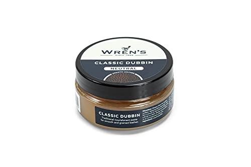 Lederfett Wren's Old Dubbin Classic, Klassische Fettpaste zum Imprägnieren und Pflegen von...