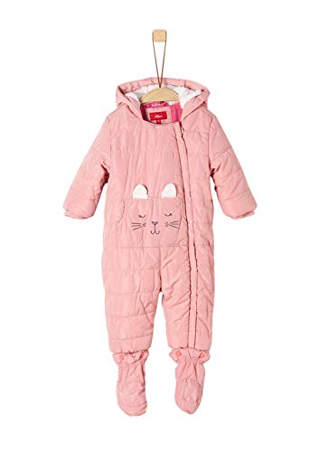 s.Oliver Baby-Mädchen 59.909.85.8870 Schneeanzug, Rosa (Dusty Pink 4261), (Herstellergröße: 86)