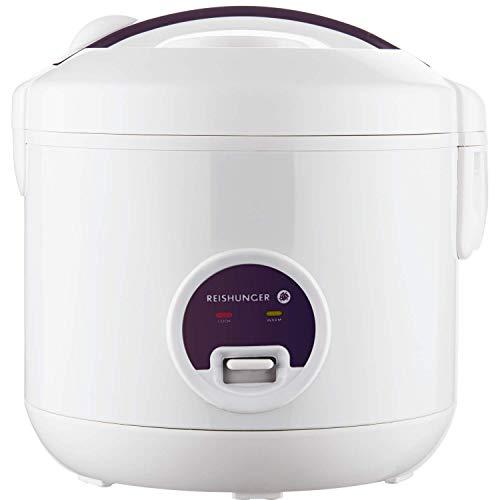 Reishunger Reiskocher und Dampfgarer mit Warmhaltefunktion, Reis für bis zu 6 Personen ohne...