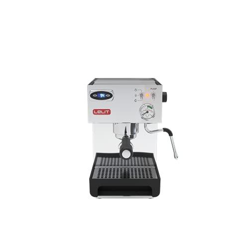 Lelit Anna PL41TEM semi-professionelle Kaffeemaschine für Espresso-Bezug, Cappuccino...