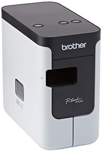 Brother PT-P700 Beschriftungsgerät für den PC (für 3,5 bis 24 mm breite TZe-Schriftbänder, bis...