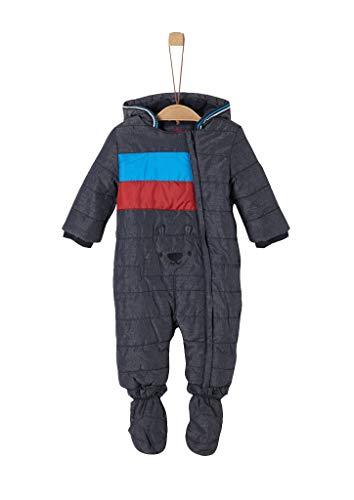 s.Oliver Baby-Jungen 59.909.85.8866 Schneeanzug, Grau (Dark Grey Melange 98w1), (Herstellergröße:...