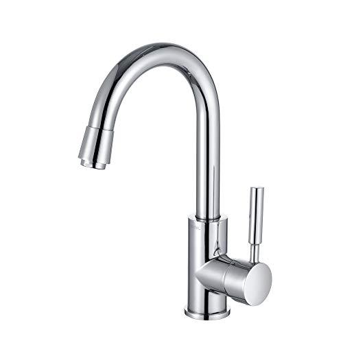 Umi. by Amazon - Wasserhahn 360° drehbar Armatur Bad Einhebel Mischbatterie Waschbeckenarmatur und...