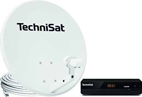 TechniSat TechniTenne 60 Satellitenschüssel Komplett-Set (60 cm Spiegel / Digital Sat Antenne mit...