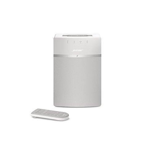 Bose SoundTouch 10 wireless Music System (geeignet für Alexa, kabelgebunden) weiß