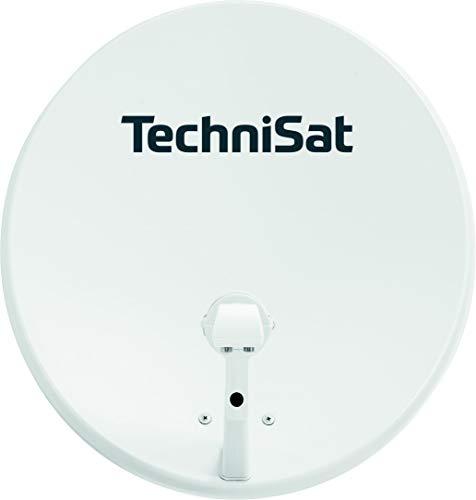 TechniSat TECHNITENNE 60 Satelliten-Schüssel für 2 Teilnehmer (60 cm digital Sat Anlage,...