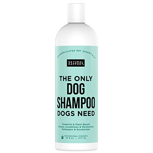 Natural Rapport Kokosöl Hundeshampoo als Hervorragendes Hunde Zubehör Einzige Sham-Poo, das...