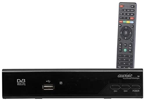 auvisio Satelliten Receiver: Digitaler Pearl.tv HD-Sat-Receiver (DVB-S/S2), HDMI, Scart, Coax (Sat...