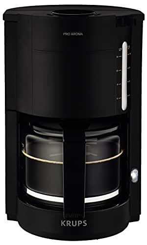 Krups F30908 ProAroma Filterkaffeemaschine mit Glaskanne   1,25L Füllmenge   10-15 Tassen   1050W  ...