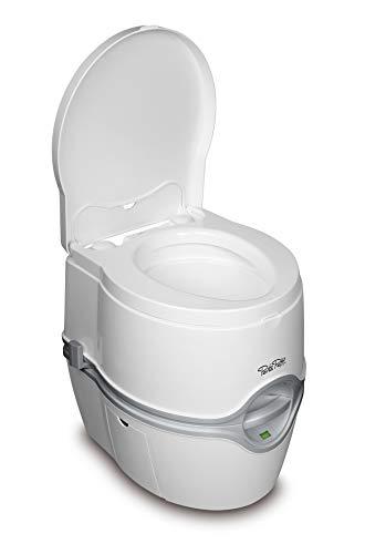 Therford 92306 Porta Potti 565E (Elektric) Tragbare Toilette, Weiß-Grau, 448 x 388 x 450 mm