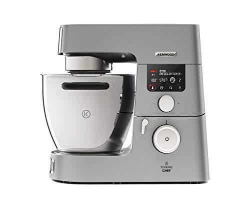 Kenwood Cooking Chef Gourmet KCC9060S Küchenmaschine (mit Kochfunktion, Induktionskochfeld von 20,...
