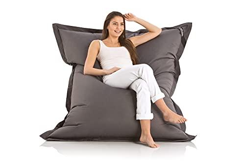 LAZY BAG Original Indoor & Outdoor Sitzsack XXL 400L Riesensitzsack Sitzkissen Sessel für Kinder &...