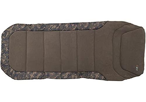 Fox R1 Camo Compact Bedchair 205x85cm Karpfenliege, Angelliege zum Karpfenangeln, Liege zum...