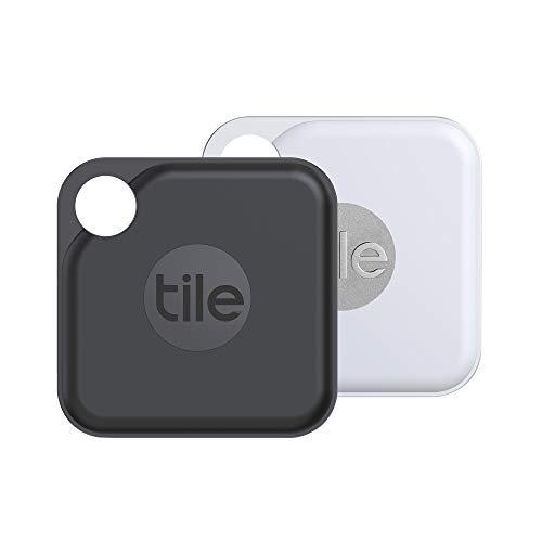 Tile Pro (2020) Bluetooth Schlüsselfinder, 2er Pack, 120m Reichweite, 1 Jahre Batterielaufzeit,...
