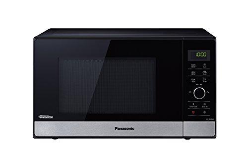 Panasonic NN-SD28HSGTG Inverter Mikrowelle (1000 Watt, Solo Mikrowelle, 23 Liter) edelstahl-schwarz