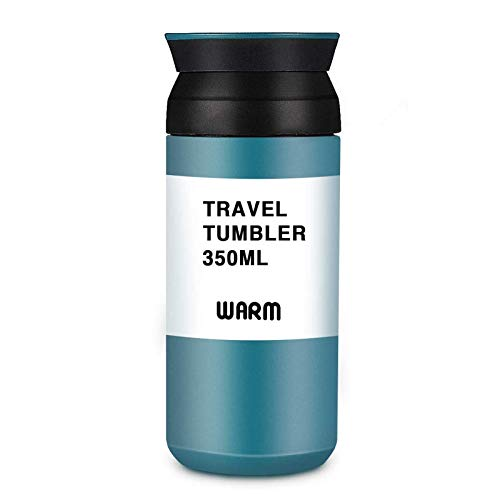 LIUMY Thermobecher Isolierbecher Kaffee to go Travel Mug Edelstahl 350 ml Doppelwandig...