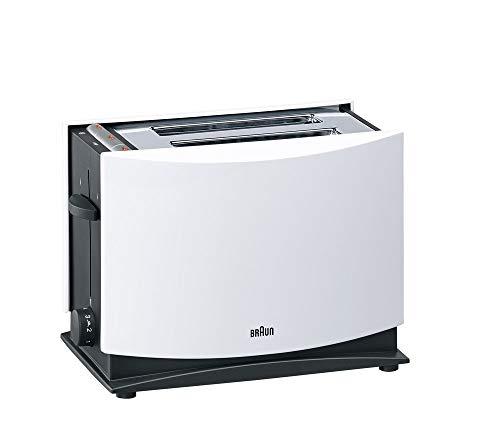 Braun Multiquick 3 HT450 Toaster | Doppelschlitz Toaster mit Brötchenaufsatz | Auftaufunktion |...