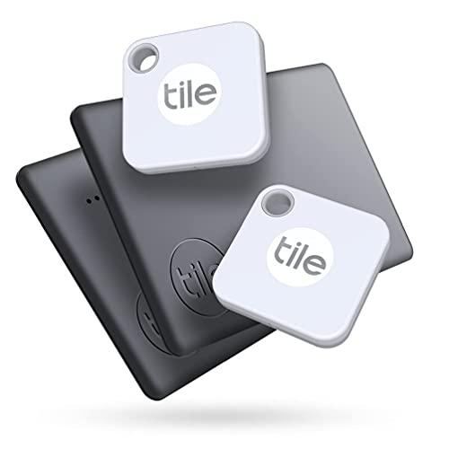 Tile Mate + Slim Combo (2020) Bluetooth Item Finder Set- 4er Pack (2 Mates, 2 Slims). Funktioniert...