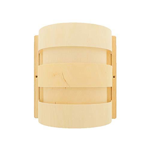 Hofmeister® Sauna Lampenschirm aus Sperrholz, 20 cm, 100% Made in Germany, Naturprodukt, Licht für...