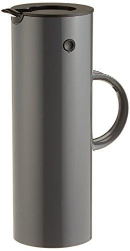 Stelton Isolierkanne EM77 - Doppelwandige Isolierkanne für heiße/kalte Getränke - Tee- &...