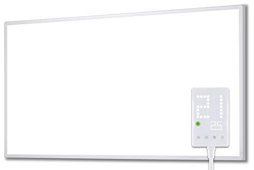 Heidenfeld Infrarotheizung HF-HP100 1000 Watt Weiß - inkl. Thermostat - 10 Jahre Garantie -...