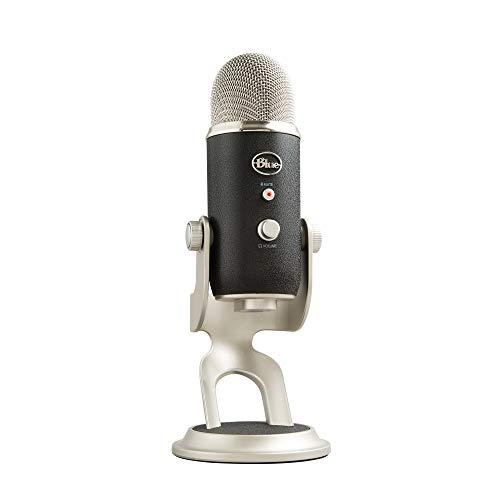 Blue Microphones Yeti Pro Professionelles USB und XLR Mikrofon, Schwarz/Silber