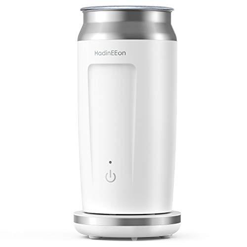 HadinEEon elektrischer Milchaufschäumer 4 in 1 Edelstahl Automatischer Milchschäumer Erhitzen und...