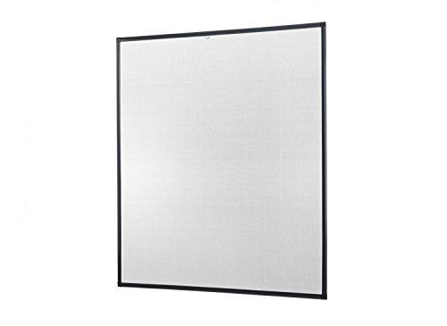 empasa Insektenschutz für Fenster Basic mit Alurahmen in Weiß, Braun oder Anthrazit und FILATEC®...