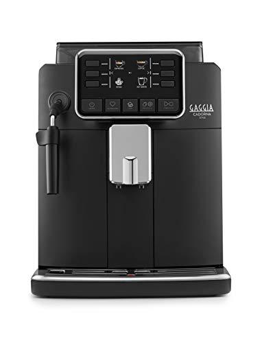 Gaggia Cadorna Style Kaffeevollautomat für Espresso und Cappuccino, Kaffeebohnen oder gemahlen,...