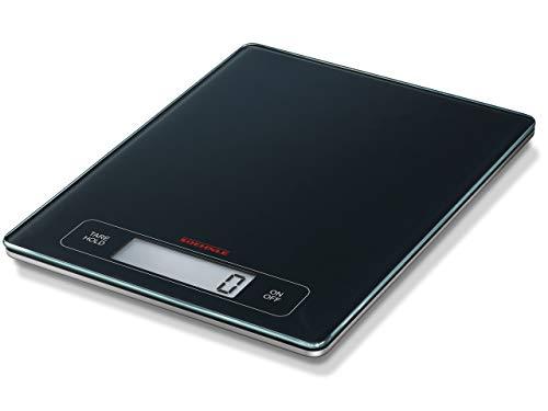 Soehnle Page Profi Digitalwaage für max. 15 kg, digitale Küchenwaage mit großer Wiegefläche und...