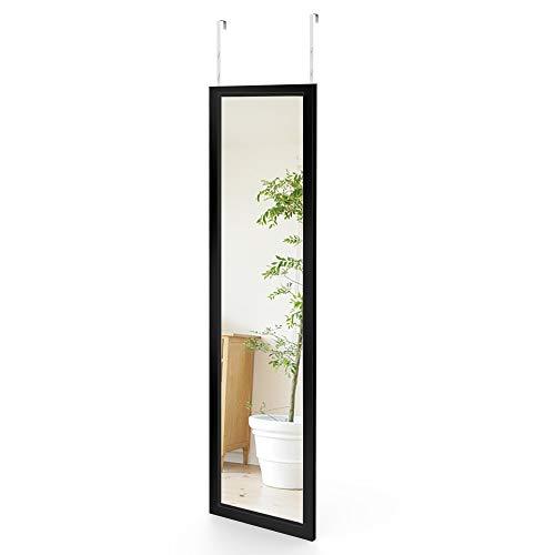 Dripex Wandspiegel 33x119cm Spiegel unbrechbarer Garderobenspiegel Flurspiegel höhenverstellbarer...