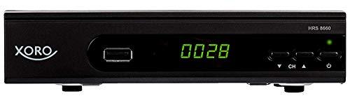 Xoro HRS 8660 digitaler Satelliten-Receiver mit LAN Anschluss (HDTV, DVB-S2, HDMI, SCART, PVR-Ready,...