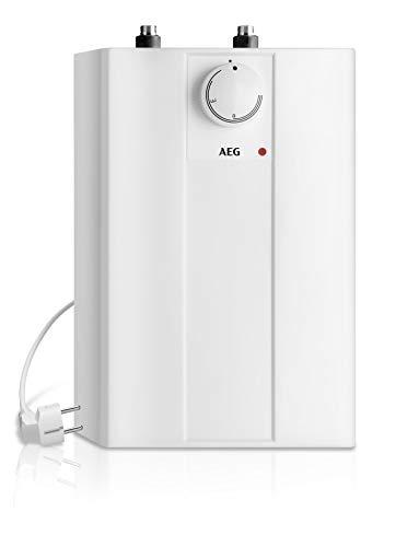 AEG offener Kleinspeicher Huz 5 Basis, steckerfertig, druckloser Anschluss, untertisch, 5l, 2 kW,...