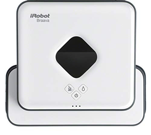 iRobot Braava 390t Wischroboter, intelligente Navigation, 2 in 1: Trocken- und Feuchtreinigung,...