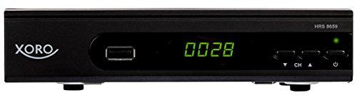 Xoro HRS 8659 digitaler Satelliten-Receiver mit LAN Anschluss (HDTV, DVB-S2, HDMI, SCART, USB 2.0...