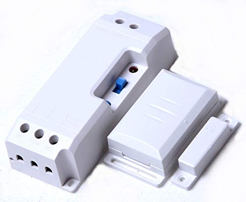 Funk-Abluftsteuerung EINBAU DAS-2090-E bis 2300W mit Fensterkontaktschalter DFM-1000. Lichtfunktion...