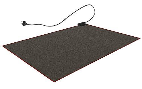 Beheizbare Teppich-Unterlage 140x200cm|Unter Teppich Heizung Heizteppich Fußmatte Wärmeteppich...