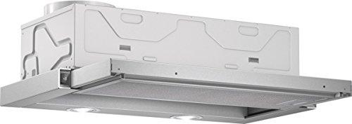 Bosch DFL064W50 Serie 2 Flachschirmhaube / C / 60 cm / Silbermetallic / wahlweise Umluft- oder...