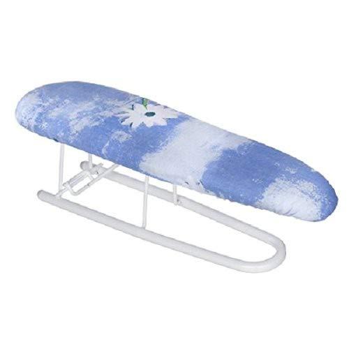 WENKO 1451018100 Ärmel-Bügelbrett - dampfdurchlässige Bügelfläche, Metall, Weiß