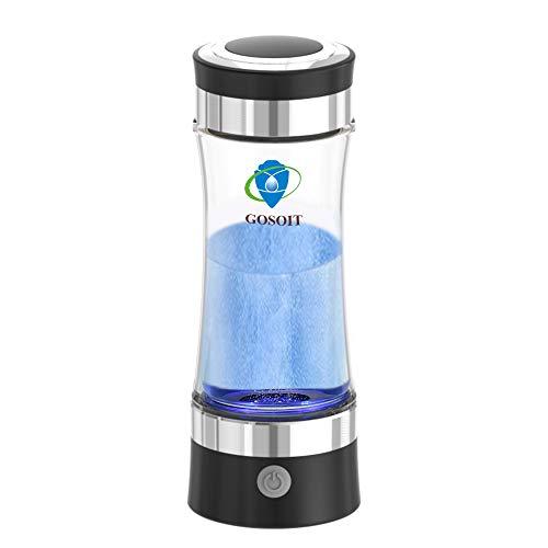 GOSOIT Wasserstoff Wasser Ionisator Wasserstoff basisch Generator Maker Machen Flasche mit SPE und...